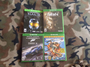Fallout 4, Forza 6, Just Cause 3 for sale (Xbox One)