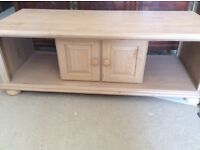 TV Table solid wood £30