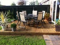 TIMBER DECKING - brand new / installed / lined / oiled ANY LOCATION