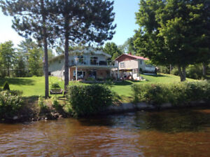 HOUSE RENTAL IN MACKEY, ON - WATERFRONT LIVING – ALL YEAR ROUND!