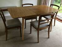 G Plan vintage dining chairs set of 4
