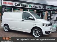 2013 VOLKSWAGEN TRANSPORTER 2.0 TDI SPORTLINE LOOKS 8 IN STOCK AIR CON FSH DI