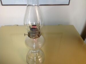 ANTIQUE HURRICANE KEROSENE LAMP (price reduced today)