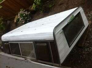 Canopy-re-purpose for easy inexpensive shed roof