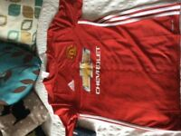 Unwanted Gift Youths Man Utd Shirt