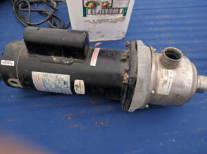 USED FRANKLIN ELECTRIC 2.5 HP MULTISTAGE WATER PUMP $160