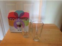 TASSIMO LATTE GLASSES (PACK OF 2)