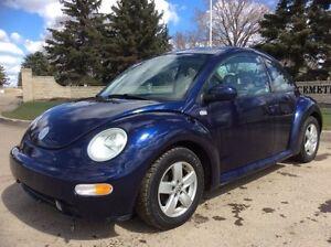 2002 Volkswagen New Beetle, GLS, 5SPD, LOADED/ROOF, 132K, $4,000