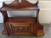 Beautiful vintage oak shelf