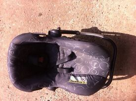 Silver cross Pram and baby seat