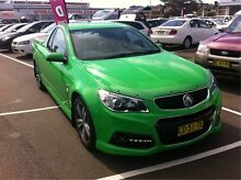 2015 Holden Ute VF MY15 SV6 Ute Green 6 Speed Sports Automatic Utility Cardiff Lake Macquarie Area Preview