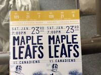 Leafs Golds to many games selling at face value