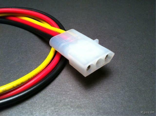 GE MVS TMX UHF VHF 3-pin Mobile Radio Power Cable