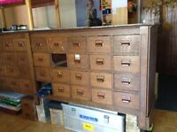 Chest of 40 drawers
