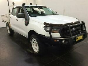 2017 Ford Ranger PX MkII MY17 XL 2.2 (4x4) White 6 Speed Manual Crew Cab Chassis
