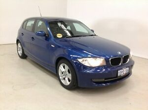 2008 BMW 118i E87 MY07 Blue 6 Speed Automatic Hatchback Edgewater Joondalup Area Preview