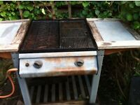 Gas Barbecue, BBQ, with Calor Gas bottle