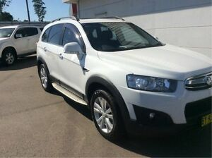 2013 Holden Captiva CG MY14 7 AWD LT White 6 Speed Sports Automatic Wagon Cardiff Lake Macquarie Area Preview