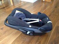 Maxi-Cosi Pebble Baby Car Seat and Headrest Mirror