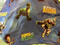 Toy Story twin bedsheets