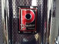 Premier HTS 800 Snare Drum + Harness
