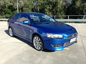 2008 Mitsubishi Lancer CJ VR-X Olympic Edition Blue 6 Speed CVT Auto Sequential Sedan Morayfield Caboolture Area Preview