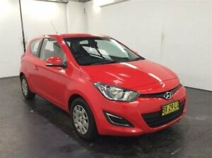 2013 Hyundai i20 PB MY14 Active Red 6 Speed Manual Hatchback Cardiff Lake Macquarie Area Preview