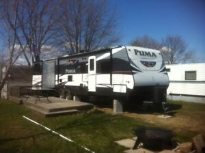 Electric Trailer Awning (only) - 18ft