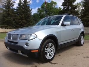 2007 BMW X3, AUTO, AWD, LEATHER, ROOF, $6,500