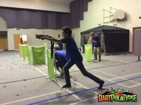 ULTIMATE NERF BATTLE BIRTHDAY PARTY, FUN DAY OR CORPORATE EVENT!