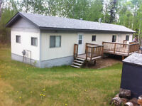 North Buck Lake 1/2 acre Lot with Mobile Home
