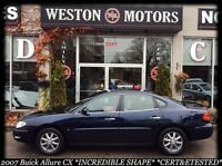 2007 Buick Allure CX*CERT &ETESTED*IN-HOUSE FINANCING!