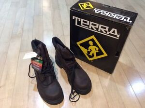 Terra Safety Boots - Brand New