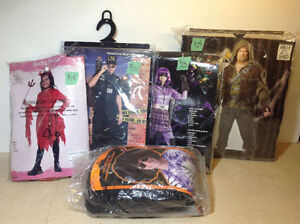 Multiple Halloween costumes - NEW IN PACKAGING