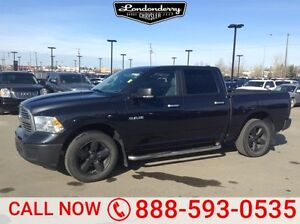 2014 Ram 1500 4WD CREWCAB SLT Accident Free,  Heated Seats,  Bac