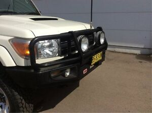 2012 Toyota Landcruiser VDJ79R MY10 GXL White 5 Speed Manual Cab Chassis Cardiff Lake Macquarie Area Preview