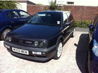 Golf VR6 Mk3 1994 M private plate 4 owners fvwsh 79k mile dusty mauve 5 Dr s/r c/ l e/w mongoose s/s
