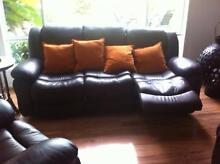 WOW Imported 3 Piece  Leather Lounge Very Comfortable 4 Recliners Wongawallan Gold Coast North Preview