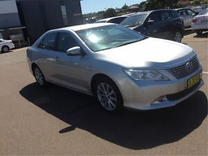 2014 Toyota Aurion GSV50R Prodigy Silver 6 Speed Sports Automatic Sedan Cardiff Lake Macquarie Area Preview