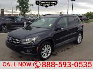 2015 Volkswagen Tiguan 20 TSI HIGHLINE Accident Free,  Leather,