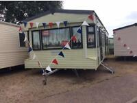 Static Caravan Nr Clacton-on-Sea Essex 3 Bedrooms 8 Berth Cosalt Country 2006