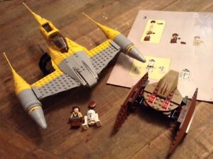 Lego Star Wars Episode I Naboo N-1 Starfighter with Vulture