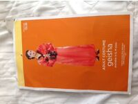 Ladies Geisha costume - Size 8-10 - Ideal for Halloween - Excellent condition