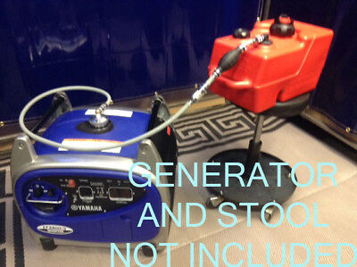 Yamaha Ef2400is Generator 3 Gal Ext Run Marine Fuel System - Early Style