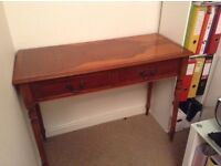 Side table with two drawers -