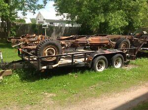 GM 1 ton axle