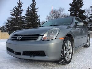2006 Infiniti G35x, AUTO, AWD, LEATHER, ROOF, $6,500