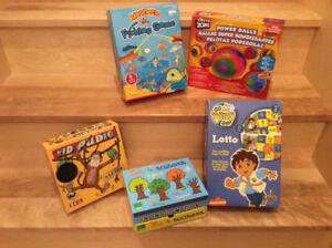 Lot 4 jeux pour enfants