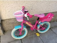 "GIRLS 14"" HELLO KITTY BIKE"