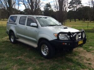 2007 Toyota Hilux SR5 4X4 Dual Cab Yass Yass Valley Preview